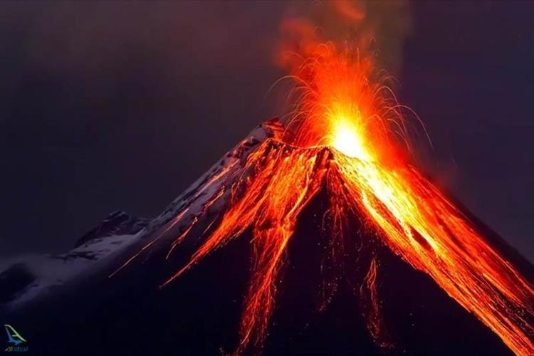 آتشفشان های فعان جهان
