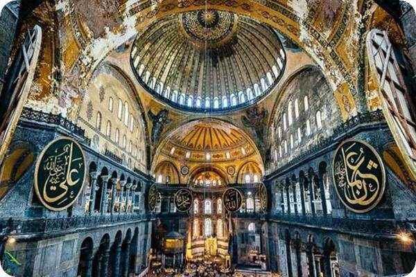 ممسجد ایاصوفیه استانبول