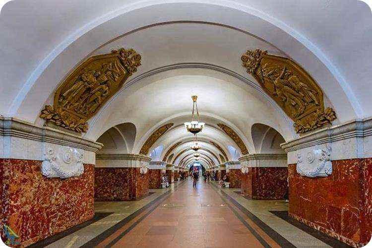 ایستگاه های شهر مسکو