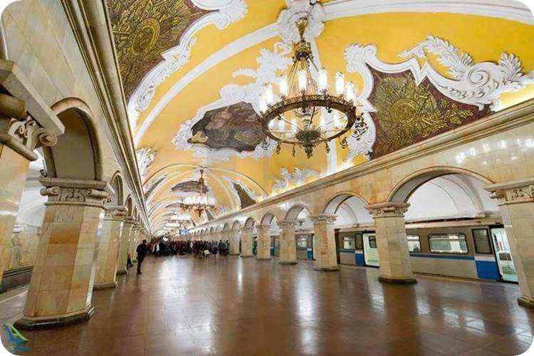 ایستگاه های زیبای مترو