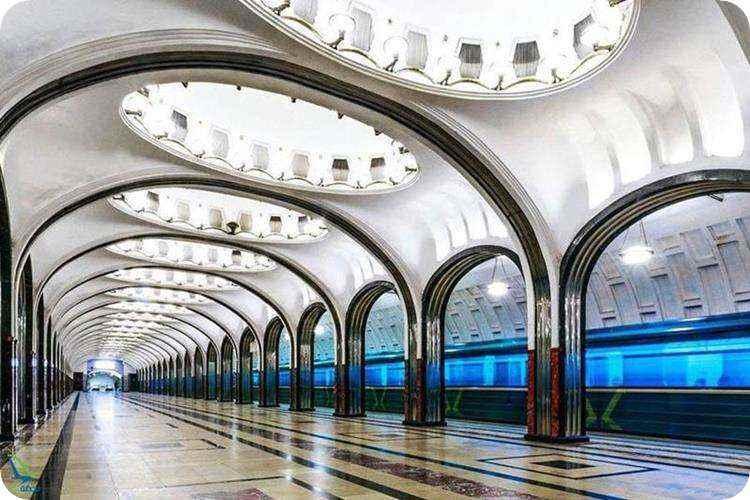 متروهای زیبای جهان
