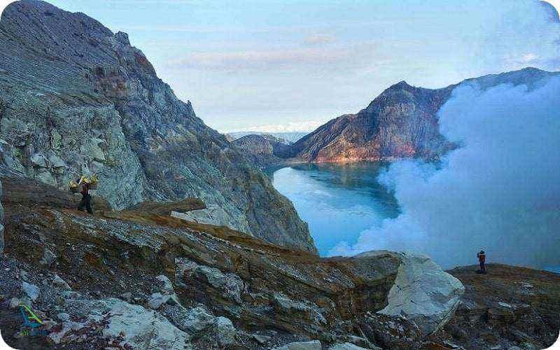 دریاچه مرگ در اندونزی
