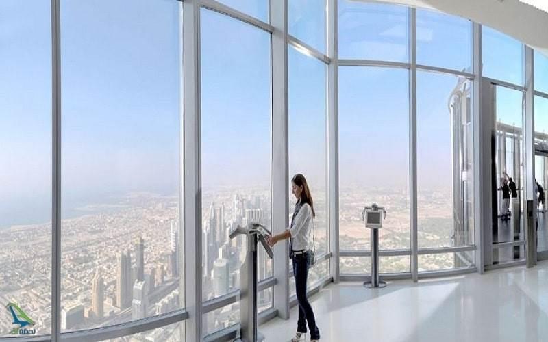 آسمان برج خلیفه