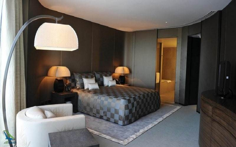 اتاق های هتل آرمانی
