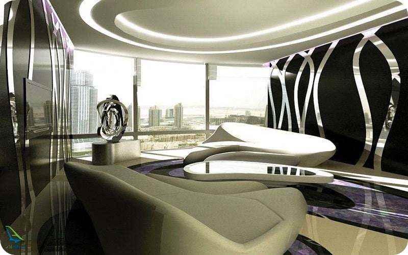 فضای داخلی برج دبی