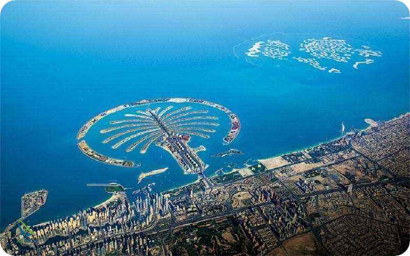 جزیره مصنوعی نخل دبی
