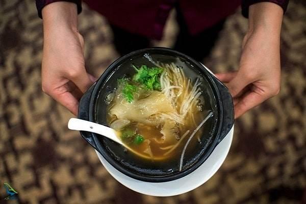 سوپ باله کوسه