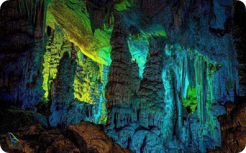 غار های رنگی