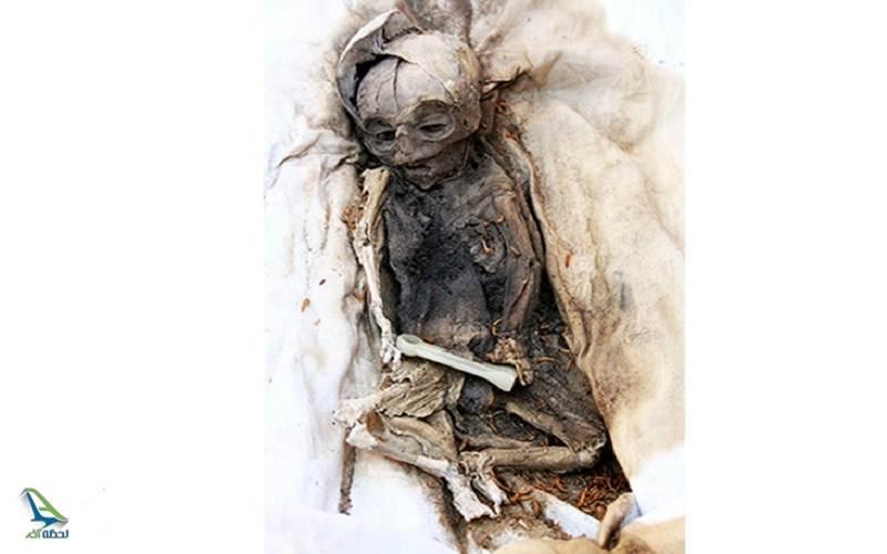 اجساد دفن شده در ارگ بم