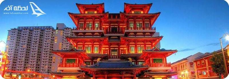 محله چینی ها در جزیره سنگاپور