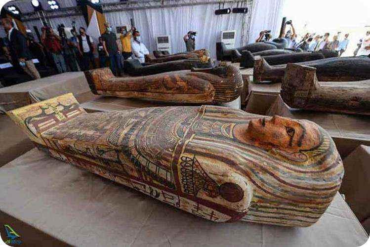 کشف مومیایی در مصر