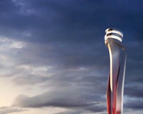 برج مراقبت فرودگاه استانبول