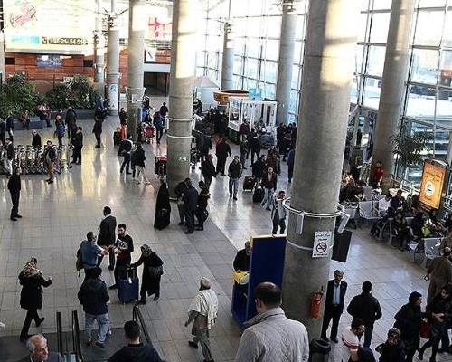فضای داخلی فرودگاه امام خمینی
