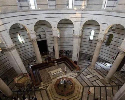 فضای داخلی برج پیزا