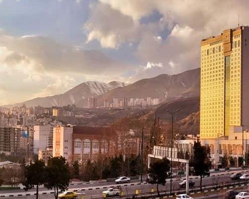 آب و هوای شهر تهران